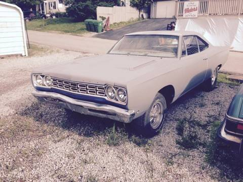 1968 Plymouth Satellite for sale at Classic Car Deals in Cadillac MI