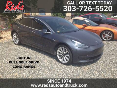 2018 Tesla Model 3 for sale at Red's Auto and Truck in Longmont CO