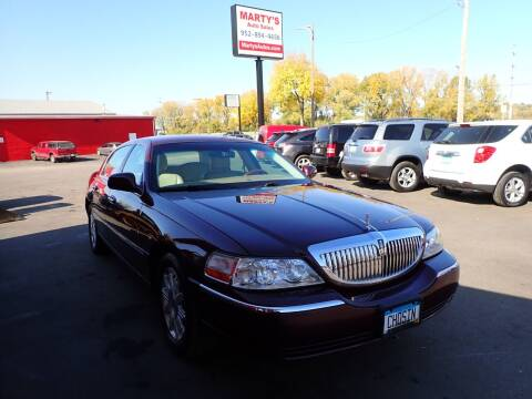 2010 Lincoln Town Car for sale at Marty's Auto Sales in Savage MN