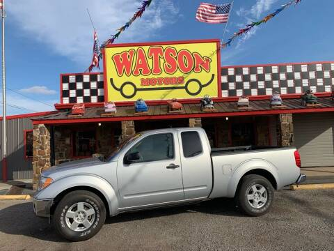 2007 Nissan Frontier for sale at Watson Motors in Poteau OK