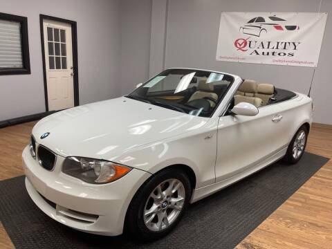 2009 BMW 1 Series for sale at Quality Autos in Marietta GA