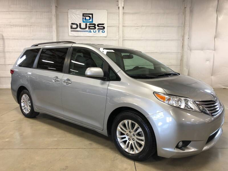 2016 Toyota Sienna for sale at DUBS AUTO LLC in Clearfield UT