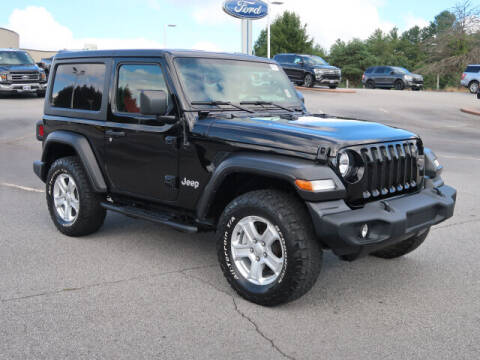 2019 Jeep Wrangler for sale at Ken Wilson Ford in Canton NC