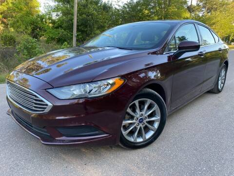 2017 Ford Fusion for sale at Next Autogas Auto Sales in Jacksonville FL