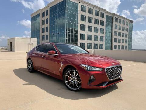 2019 Genesis G70 for sale at SIGNATURE Sales & Consignment in Austin TX