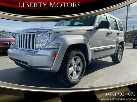 2012 Jeep Liberty for sale at Liberty Motors in Billings MT