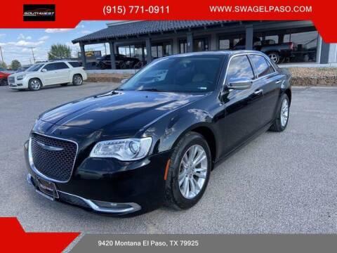2015 Chrysler 300 for sale at SOUTHWEST AUTO GROUP-EL PASO in El Paso TX