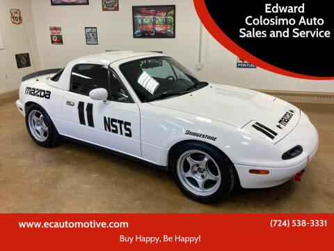 1990 Mazda MX-5 Miata for sale at Edward Colosimo Auto Sales and Service in Evans City PA