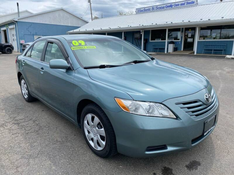 2009 Toyota Camry for sale at HACKETT & SONS LLC in Nelson PA