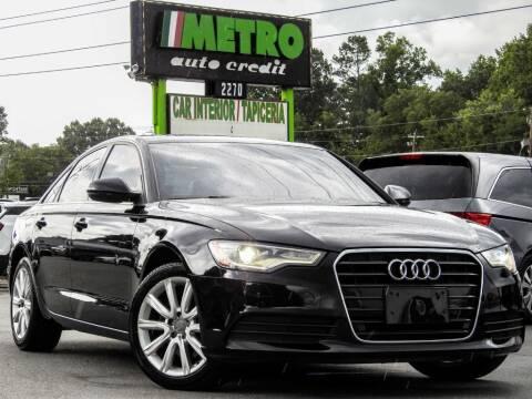 2013 Audi A6 for sale at Metro Auto Credit in Smyrna GA
