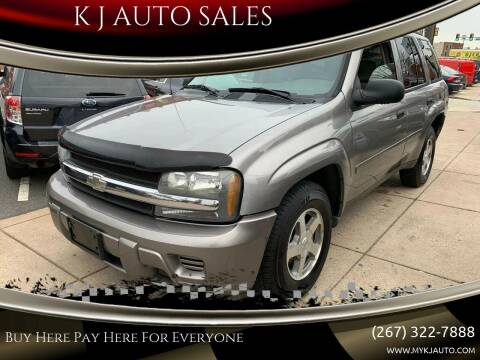 2006 Chevrolet TrailBlazer for sale at K J AUTO SALES in Philadelphia PA