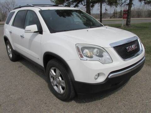 2009 GMC Acadia for sale at Buy-Rite Auto Sales in Shakopee MN