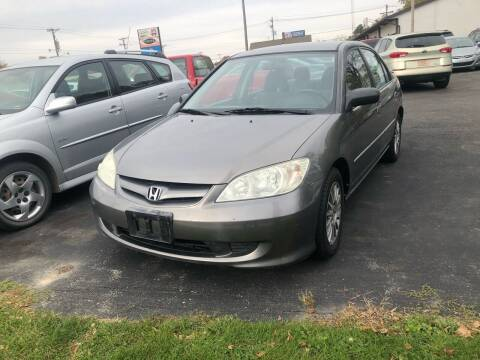 2005 Honda Civic for sale at Prospect Auto Mart in Peoria IL
