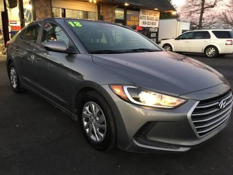 2018 Hyundai Elantra for sale at Best Choice Auto Sales in Lexington KY