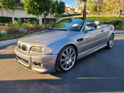2006 BMW M3 for sale at E MOTORCARS in Fullerton CA