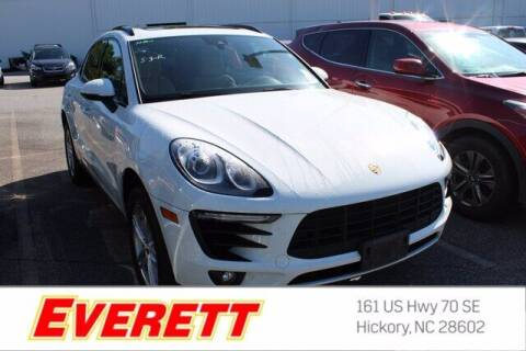 2018 Porsche Macan for sale at Everett Chevrolet Buick GMC in Hickory NC