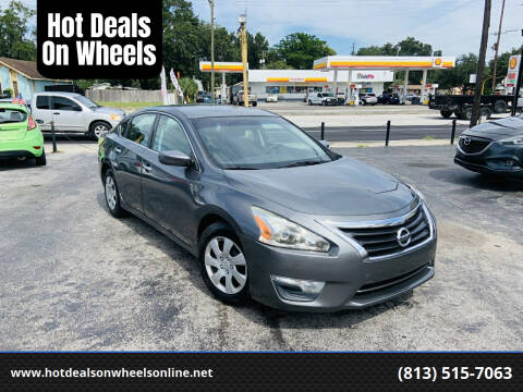 2014 Nissan Altima for sale at Hot Deals On Wheels in Tampa FL