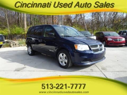 2014 Dodge Grand Caravan for sale at Cincinnati Used Auto Sales in Cincinnati OH