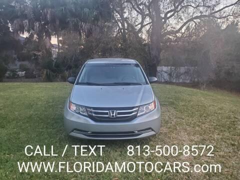 2016 Honda Odyssey for sale at Florida Motocars in Tampa FL