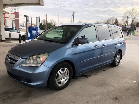 2006 Honda Odyssey for sale at JE Auto Sales LLC in Indianapolis IN