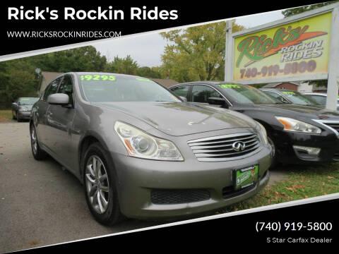 2008 Infiniti G35 for sale at Rick's Rockin Rides in Reynoldsburg OH
