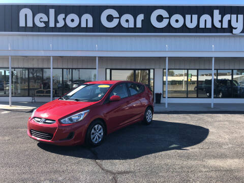2017 Hyundai Accent for sale at Nelson Car Country in Bixby OK