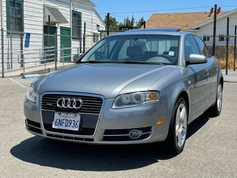 2007 Audi A4 for sale at ZaZa Motors in San Leandro CA