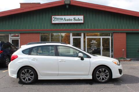2013 Subaru Impreza for sale at Gentry Auto Sales in Portage MI