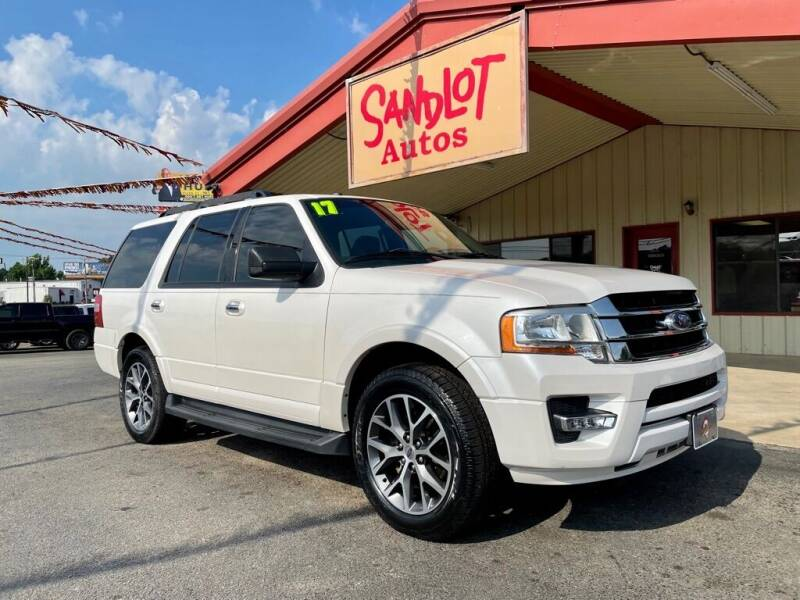 2017 Ford Expedition for sale at Sandlot Autos in Tyler TX