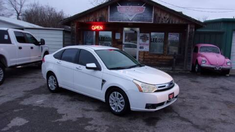 2008 Ford Focus for sale at LEE AUTO SALES in McAlester OK
