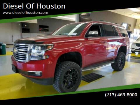 2015 Chevrolet Tahoe for sale at Diesel Of Houston in Houston TX