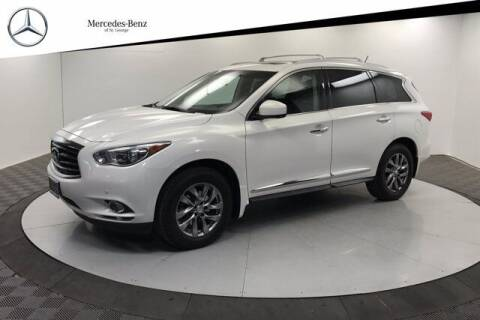 2013 Infiniti JX35 for sale at Stephen Wade Pre-Owned Supercenter in Saint George UT