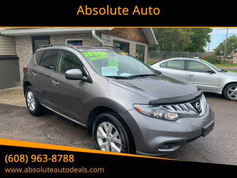 2014 Nissan Murano for sale at Absolute Auto in Baraboo WI