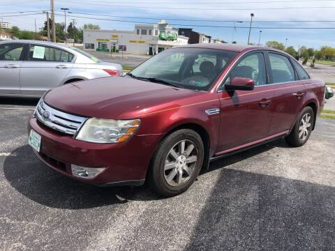 2008 Ford Taurus for sale at McNamara Auto Sales - Kenneth Road Lot in York PA