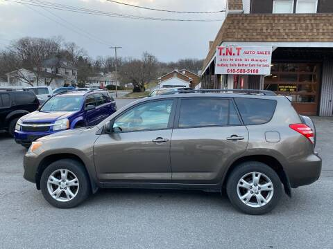 2011 Toyota RAV4 for sale at TNT Auto Sales in Bangor PA