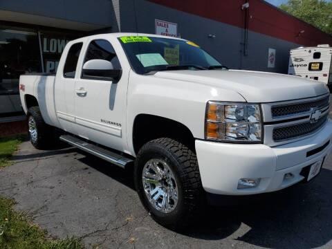 2013 Chevrolet Silverado 1500 for sale at Stach Auto in Janesville WI