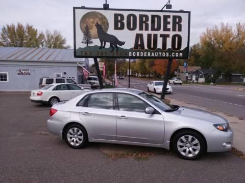 2010 Subaru Impreza for sale at Border Auto of Princeton in Princeton MN