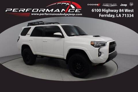 2019 Toyota 4Runner for sale at Auto Group South - Performance Dodge Chrysler Jeep in Ferriday LA