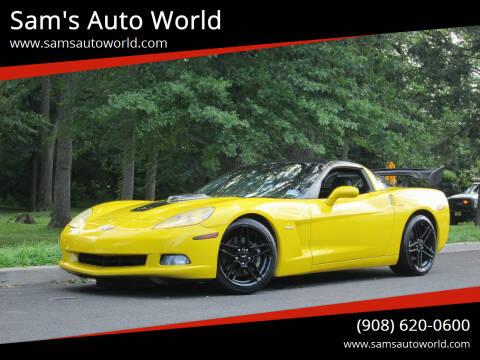 2005 Chevrolet Corvette for sale at Sam's Auto World in Roselle NJ