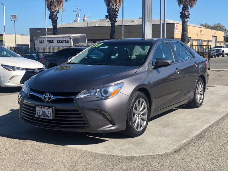 2017 Toyota Camry for sale at H & K Auto Sales & Leasing in San Jose CA