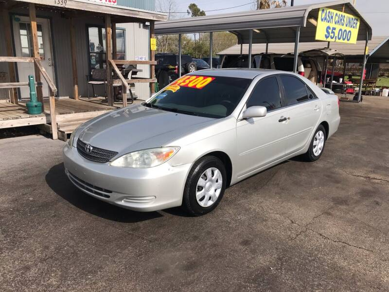2003 Toyota Camry for sale at Texas 1 Auto Finance in Kemah TX