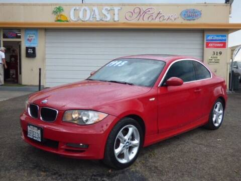 2008 BMW 1 Series for sale at Coast Motors in Arroyo Grande CA