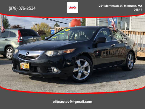 2011 Acura TSX for sale at ELITE AUTO SALES, INC in Methuen MA