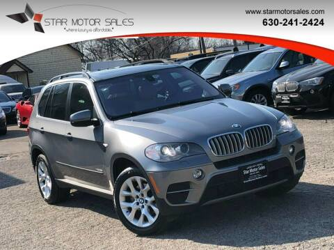 2013 BMW X5 for sale at Star Motor Sales in Downers Grove IL