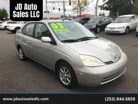2003 Toyota Prius for sale at JD Auto Sales LLC in Fife WA