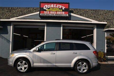 2010 Dodge Journey for sale at Quality Pre-Owned Automotive in Cuba MO