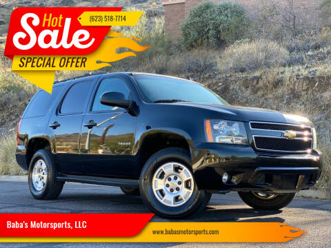 2013 Chevrolet Tahoe for sale at Baba's Motorsports, LLC in Phoenix AZ