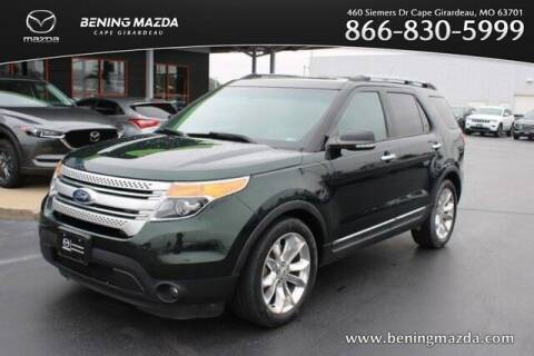 2013 Ford Explorer for sale at Bening Mazda in Cape Girardeau MO