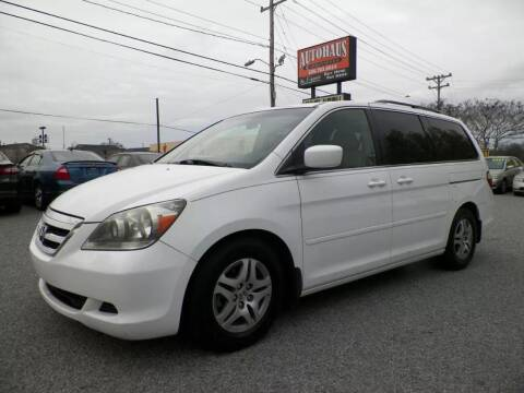 2006 Honda Odyssey for sale at Autohaus of Greensboro in Greensboro NC