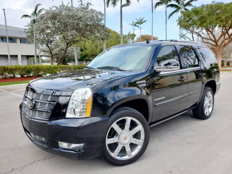 2012 Cadillac Escalade for sale at FIRST FLORIDA MOTOR SPORTS in Pompano Beach FL
